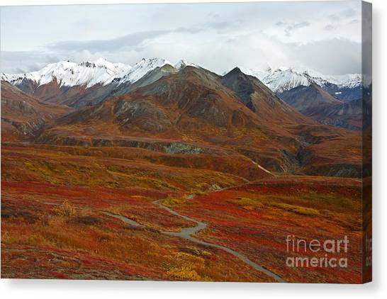 Polychrome Pass Canvas Print