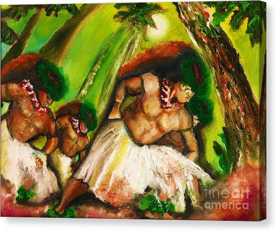 Polynesian Chant Canvas Print