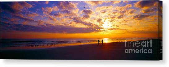 Ponce Inlet Fl Sunrise  Canvas Print