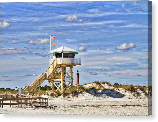 Ponce Inlet Scenic Canvas Print