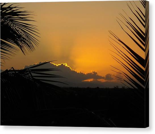 Ponce Sunrise Canvas Print
