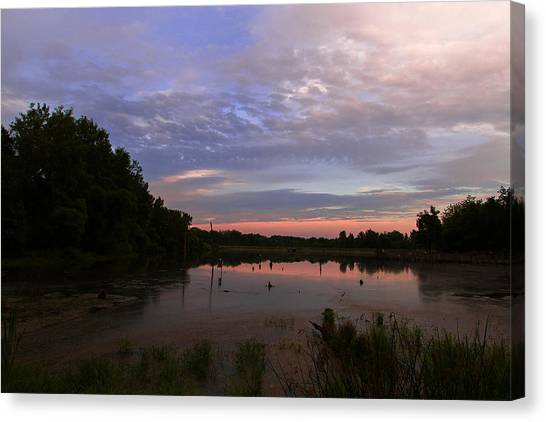 Pond At Carriage Hill Canvas Print