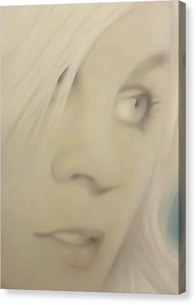 Pong Ping Closeup Canvas Print