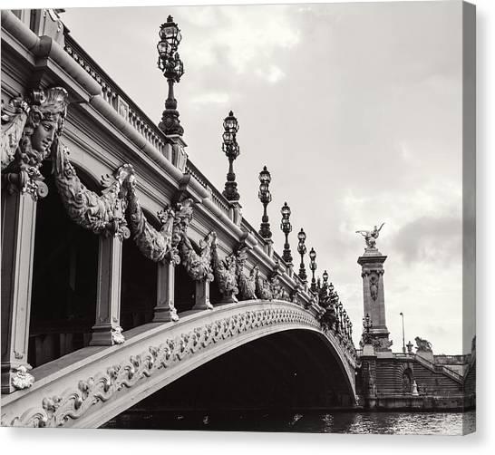 Paris Canvas Print - Pont Alexandre IIi by Melanie Alexandra Price