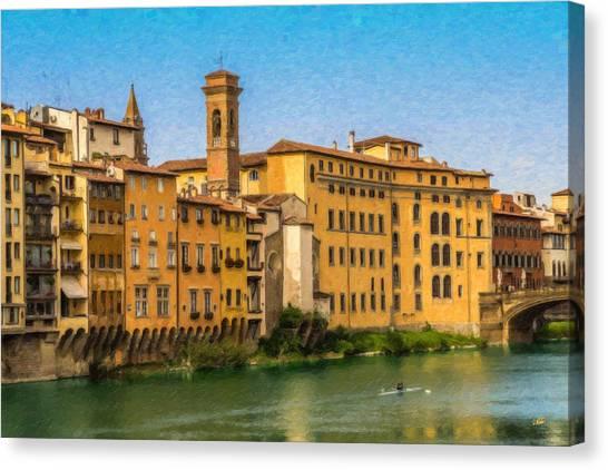 Ponte Vecchio Itl3304 Canvas Print