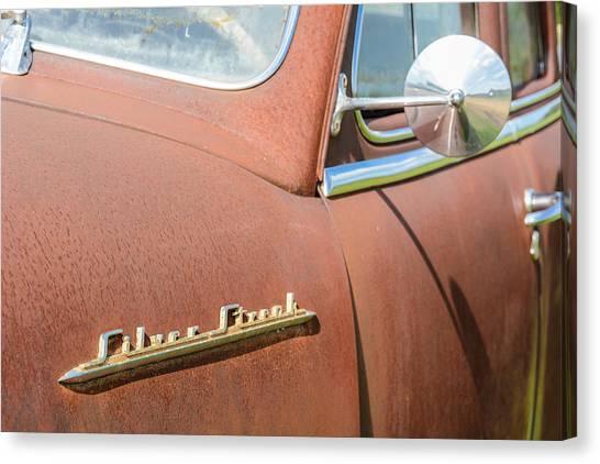 Pontiac Silver Streak Canvas Print by Wally Taylor