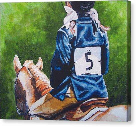 Pony Girl Canvas Print