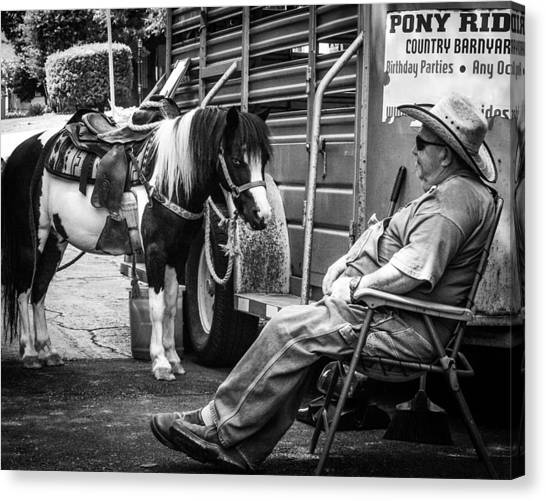 Pony Ride Canvas Print