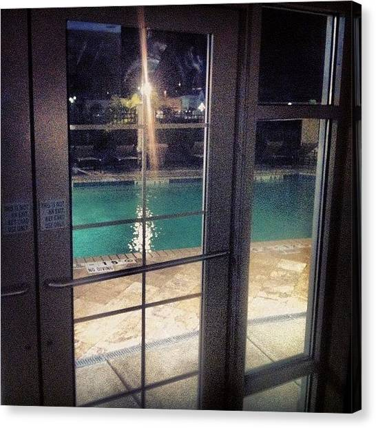 Soldiers Canvas Print - Pool Looked And Felt Amazing! Here In by Andrew Plonski
