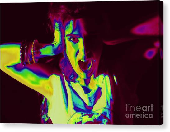 Pop Art Music Canvas Print by Arie Arik Chen