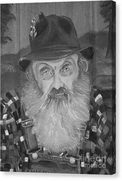 Popcorn Sutton - Jam - Moonshine Canvas Print