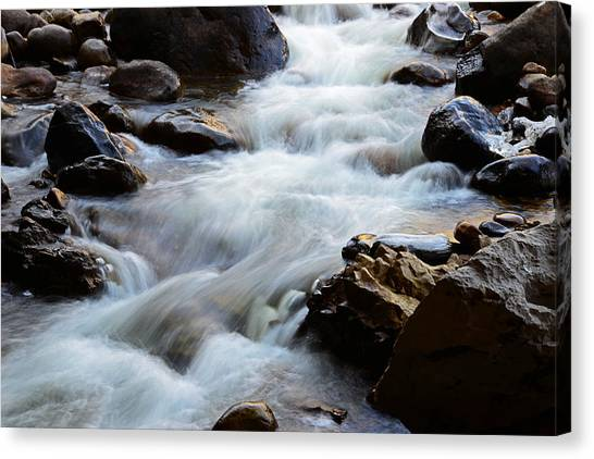 Popo Agie Flow Canvas Print
