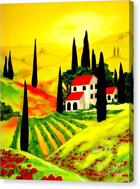 Poppi Canvas Print