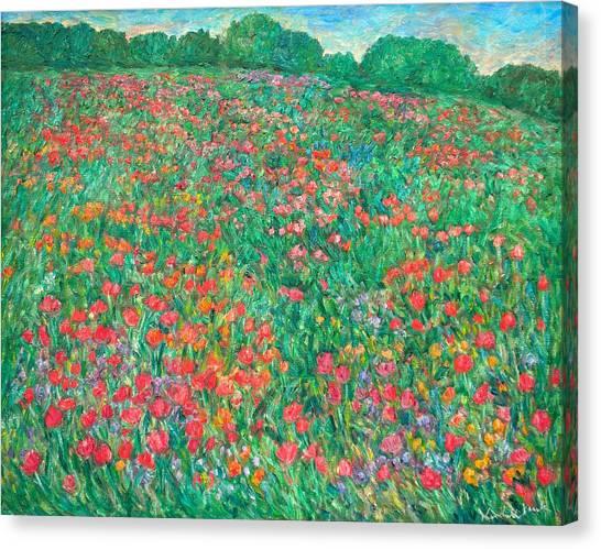 Poppy View Canvas Print