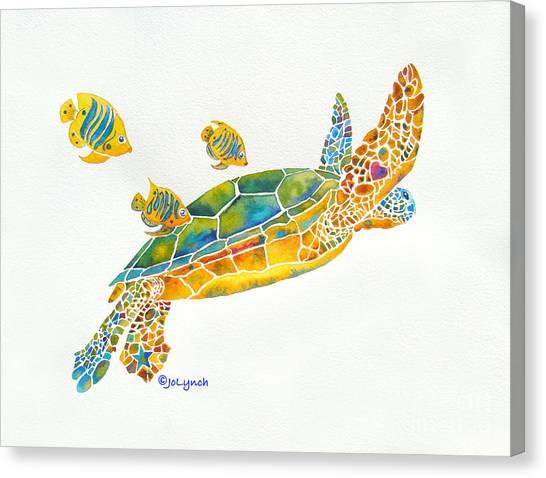 Popular Sea Turtle Canvas Print