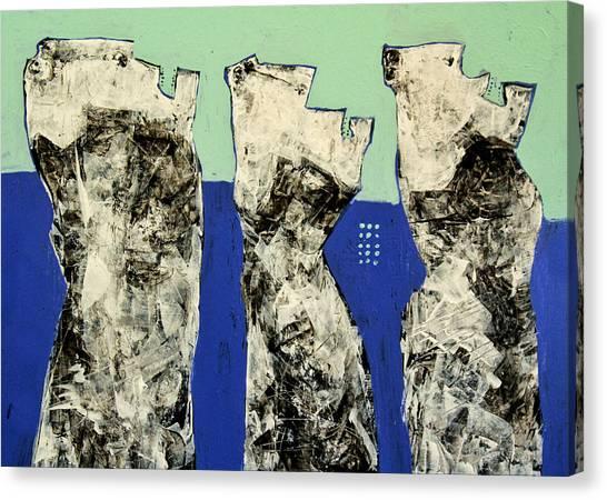 Acrylic On Canvas Print - Populus No. 2 by Mark M  Mellon
