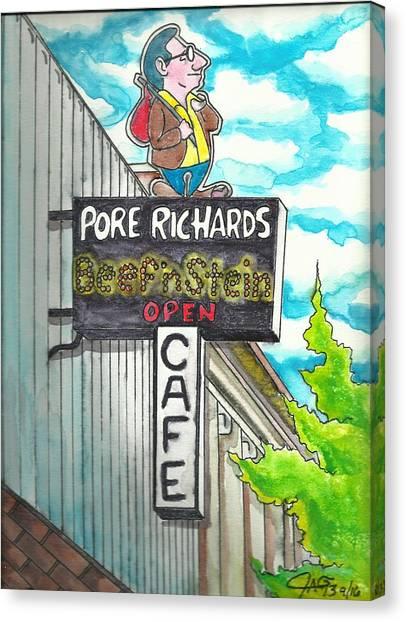 Pore Richards Canvas Print
