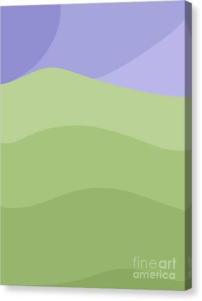 Porirua Hillside Canvas Print