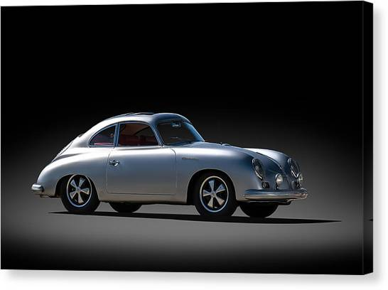 Porsche Canvas Print - Porsche 356 Outlaw by Douglas Pittman