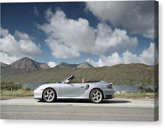 Porsche 911 - 996 Turbo Canvas Print