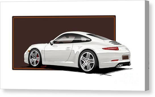 Fineart Canvas Print - Porsche 911 991 Carrera by Reinhold FineArt