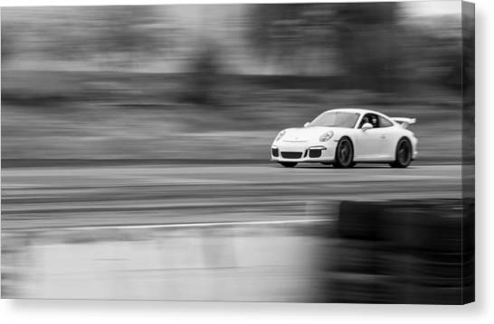 Porsche 911 Gt3 Supercar Canvas Print