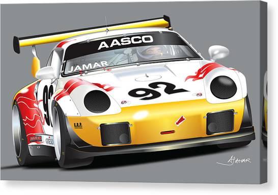 Porsche 911 Turbo Custom Canvas Print