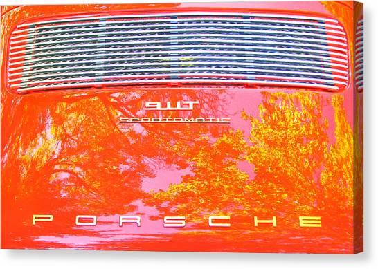 Porsche 911t Reflections Canvas Print
