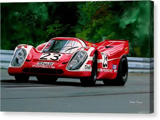Porsche 917  Le Man Winner Canvas Print