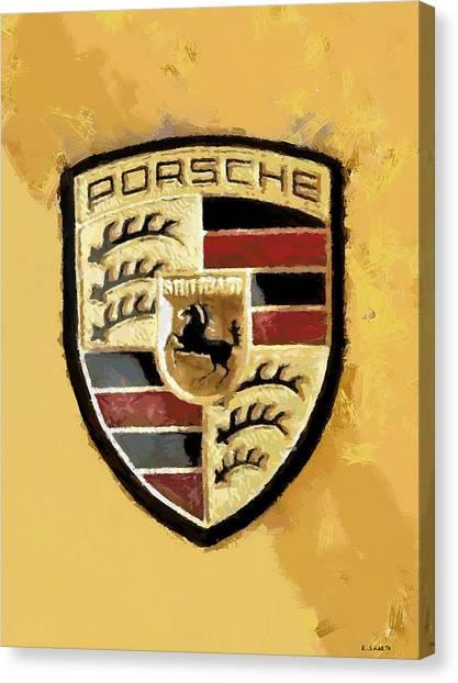 Porsche Heritage Canvas Print
