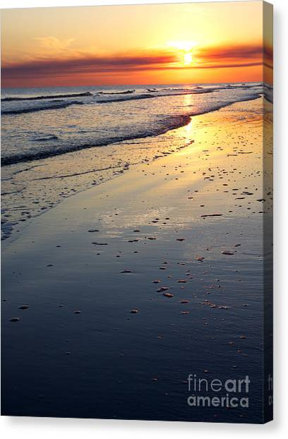 Port Arthur Sunset Canvas Print