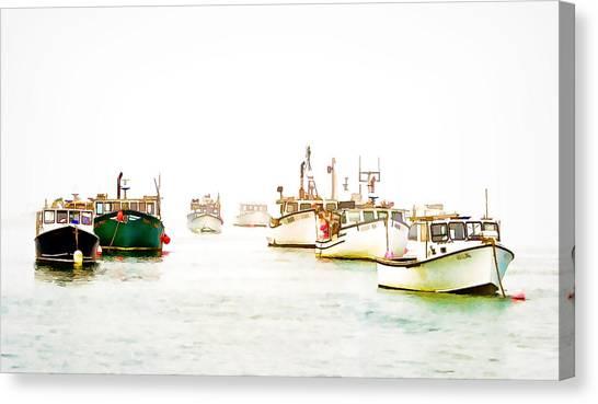 Port Bound  Chatham Cape Cod Photo Art Canvas Print