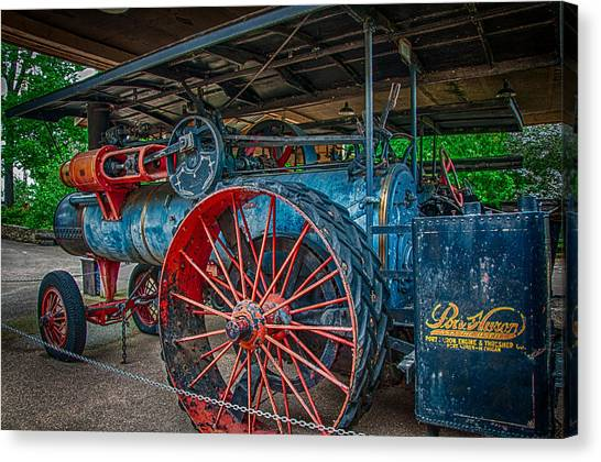 Port Huron Engine And Thresher Machine Canvas Print by Gene Sherrill