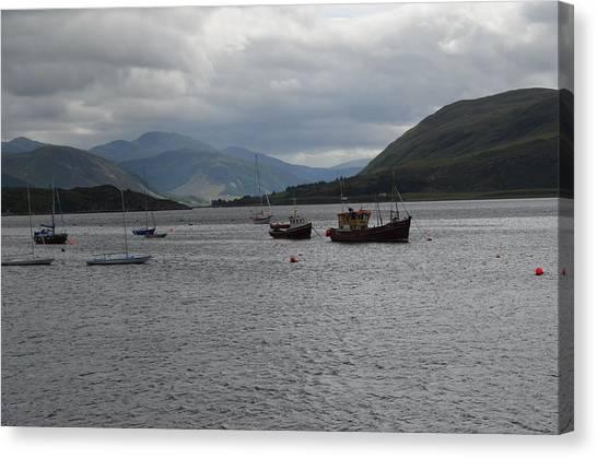 Port In Scotland Canvas Print