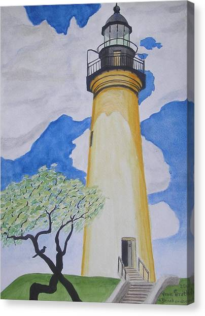 Port Isabel Lighthouse Canvas Print