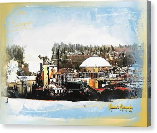 Port Tacoma Dome Canvas Print