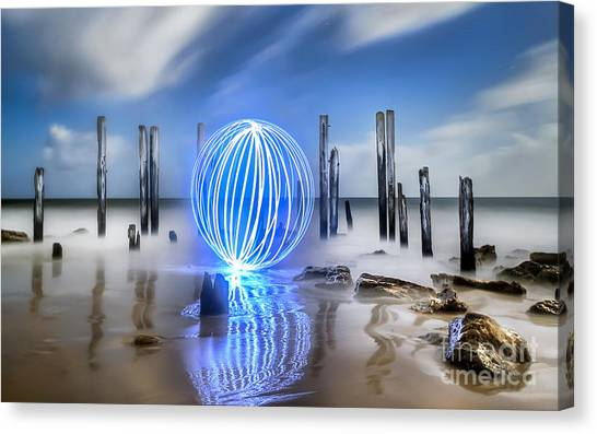 Port Willunga Orb Canvas Print by Shannon Rogers