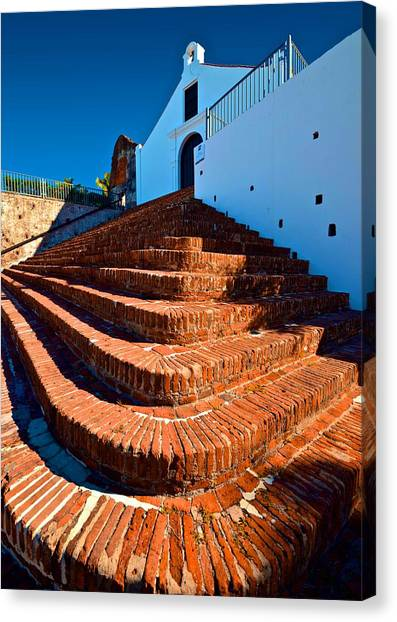 Porta Coeli Steps Canvas Print
