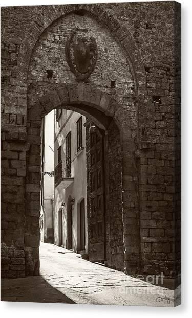 Porta Florentina Canvas Print