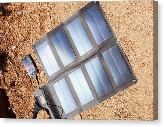 Moroccon Canvas Print - Portable Solar Mat by Ashley Cooper