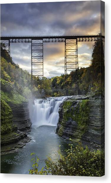 Portage Bridge Canvas Print