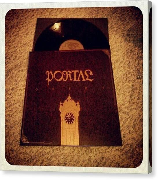 Portal Canvas Print - Portal - outre #portal #cover by J Decker