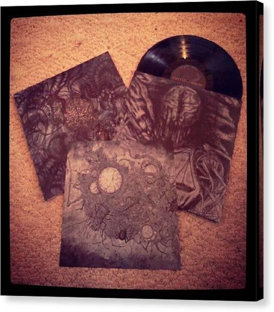 Portal Canvas Print - Portal - vexovoid #vinyl #records by J Decker