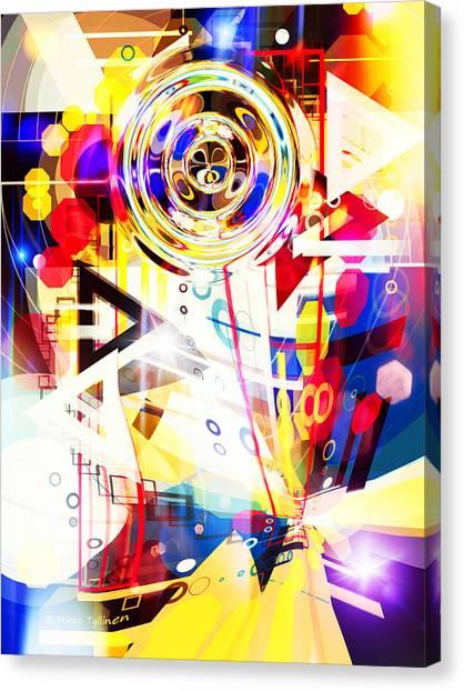 Portal Into Imaginary  Canvas Print