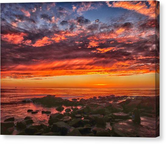 Canvas Print featuring the photograph Portal by Mike Trueblood