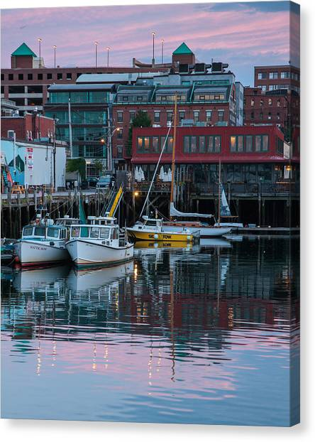 Portland Harbor Canvas Print