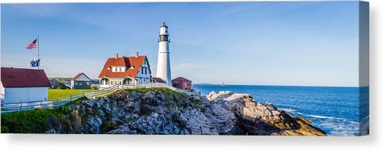 Portland Head Light House Cape Elizabeth Maine Canvas Print
