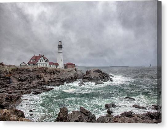 Portland Head Light Canvas Print