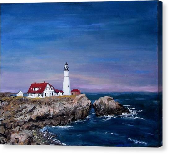 Canvas Print - Portland Head Lighthouse by Jack Skinner