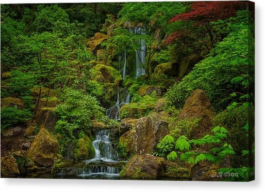 Portland Japanese Gardens Canvas Print